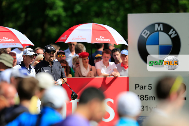 Shane LOWRY (IRL) during the final round of the BMW PGA championship, Wentworth Golf Club, Virginia Water, London.<br /> Picture: Fran Caffrey www.golffile.ie
