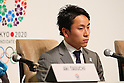 Yuki Ota, MARCH 7, 2013 : Tokyo 2020 bid Committee Ambassador Yuki Ota attends a Press conference about presentations of Tokyo 2020 bid Committee in Tokyo, Japan. (Photo by Yusuke Nakanishi/AFLO SPORT).