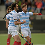 EHL - KHC Dragons v Racing Club de France - 2017