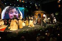 APARECIDA, SP, 11.10.2014 - Procissão-Memória - APARECISA-SP - Procissão-Memória no Porto Itaguaçu onde local onde a Nossa Senhora Aparecida foi encontrada, neste sábado (11)  (Foto: Marcelo Brammer / Brazil Photo Press).