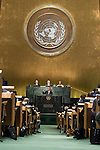 General Assembly Seventy-first session: Opening of the General Debate 71 United Nations, New York