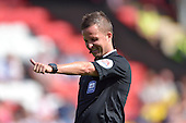 08/08/2015 Sky Bet League 1 Fleetwood Town v Southend United<br /> Referee, David Webb