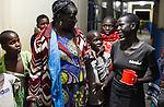 TANZANIA Mara, Tarime, village Masanga, region of the Kuria tribe who practise FGM Female Genital Mutilation, temporary rescue camp of the Diocese Musoma for girls which escaped from their villages to prevent FGM / TANSANIA Mara, Tarime, Dorf Masanga, in der Region lebt der Kuria Tribe, der FGM weibliche Genitalbeschneidung praktiziert, temporaerer Zufluchtsort fuer Maedchen, denen in ihrem Dorf Genitalverstuemmelung droht, in einer Schule der Dioezese Musoma, REGINA ANDREA MUKAMA genannt MAMA REGINA