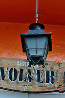 Ushuaia Street Scenes - Light over the door.