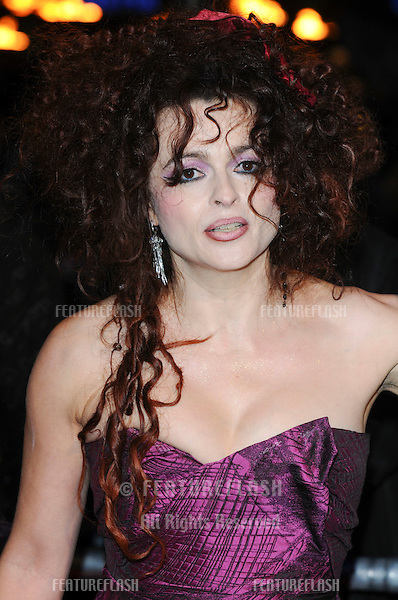 Helena Bonham Carter arriving for the world premiere of 'Harry Potter and the Deathly Hallows part 1' at the Odeon Leicester Square, London. 11/11/2010  Picture by: Steve Vas / Featureflash
