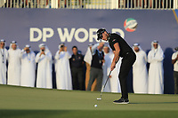 Danny Willett (ENG) on his way to winning the DP World Tour Championship, Jumeirah Golf Estates, Dubai, United Arab Emirates. 18/11/2018<br /> Picture: Golffile | Fran Caffrey<br /> <br /> <br /> All photo usage must carry mandatory copyright credit (© Golffile | Fran Caffrey)