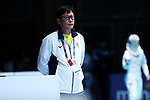 Lee Wook Jae (JPN), <br /> AUGUST 19, 2018 - Fencing : <br /> Women's Individual Sabre Round of 16 <br /> at Jakarta Convention Center Cendrawasih <br /> during the 2018 Jakarta Palembang Asian Games <br /> in Jakarta, Indonesia. <br /> (Photo by Naoki Nishimura/AFLO SPORT)