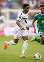 KANSAS CITY, KS - JUNE 26: Levi Garcia #11 during a game between Guyana and Trinidad