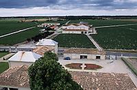 Europe/France/Aquitaine/33/Gironde/Saint-Laurent-Médoc: Le Château Larose Trintaudon (AOC Haut-Médoc) - Les jardins et le vignoble