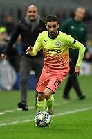 Bernardo Silva of Manchester City <br /> Milano 06-11-2019 Stadio San Siro <br /> Football Champions League 2019/2020 Group C <br /> Atalanta - Manchester City <br /> Photo Andrea Staccioli / Insidefoto