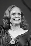 """Valerie Harper as Tallulah Bankhead<br /> taking a bow at the Broadway Opening Night Curtain Call for """"Looped"""" at the Lyceum Theatre in New York City.<br /> March 14, 2010"""