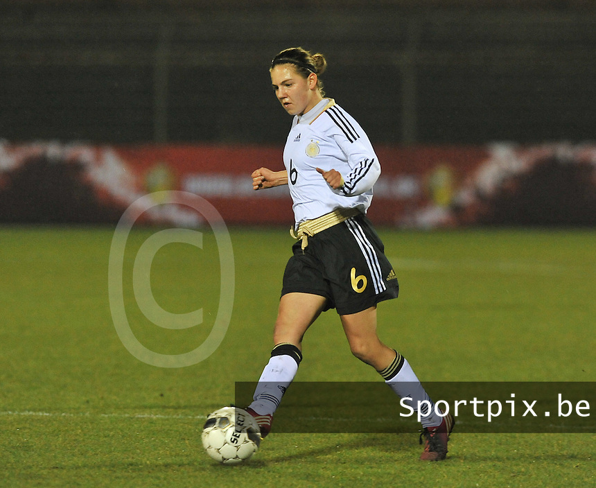 U17  Netherlands - U17 Germany : Rieke Dieckmann.foto DAVID CATRY / Vrouwenteam.be