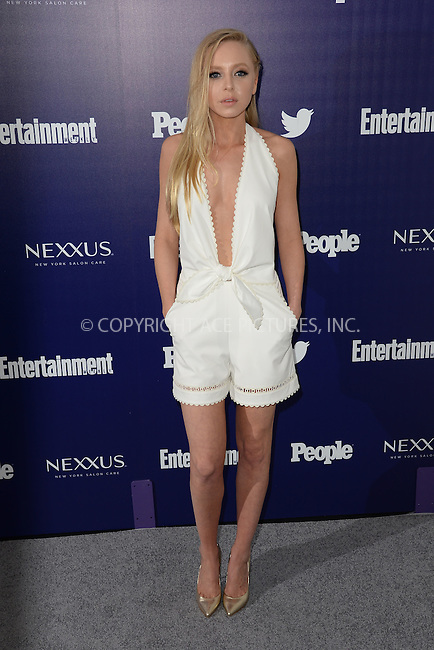 WWW.ACEPIXS.COM<br /> May 11, 2015 New York City<br /> <br /> Portia Doubleday attending the Entertainment Weekly and People celebration of The New York Upfronts at The Highline Hotel onMay 11, 2015 in New York City.<br /> <br /> Please byline: Kristin Callahan/AcePictures<br /> <br /> Tel: (646) 769 0430<br /> e-mail: info@acepixs.com<br /> web: http://www.acepixs.com