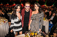 MADRID, SPAIN - NOVEMBER 10: Camila Cabello, Bono and Penelope Cruz attend the 40 Music Awards press room at WiZink Center on November 10, 2017 in Madrid, Spain.  ***NO SPAIN***<br /> CAP/MPI/RJO<br /> &copy;RJO/MPI/Capital Pictures