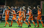 17.04.18 Brechin City v Dundee utd:<br /> Scott McDonald takes the acclaim for his goal