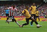 Las Águilas Doradas complicaron a Junior en el Metropolitano y le empataron a un gol este domingo por la tarde, en juego de la fecha 12 del Torneo Apertura Colombiano 2015.