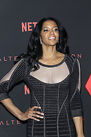 """LOS ANGELES - FEB 1:  Renee Elise Goldsberry at the """"Altered Carbon"""" Season 1 Premiere Screening at the Mack Sennett Studios on February 1, 2018 in Los Angeles, CA"""