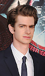 WESTWOOD, CA - JUNE 28: Andrew Garfield arrives at the Los Angeles premiere of 'The Amazing Spiderman' at Regency Village Theatre on June 28, 2012 in Westwood, California.