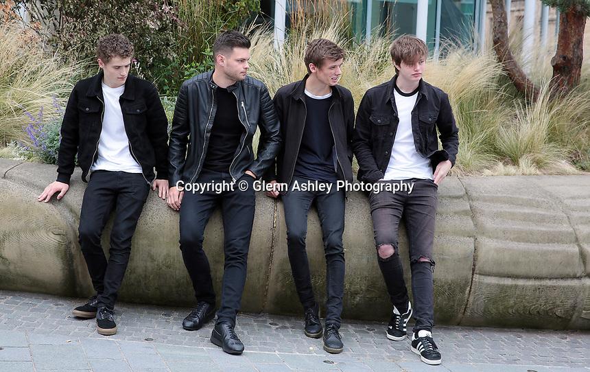 Sheffield band Oddity Road, Sheffield, United Kingdom, 7 September 2017. Photo by Glenn Ashley.