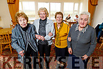Ballybunion Senior Citizens, Peggy Creed, Kathleen Brady, Catherine and Margaret Barry enjoying the afternoon in the Towers Friendship and Respite Centre in Ballybunion on Tuesday.