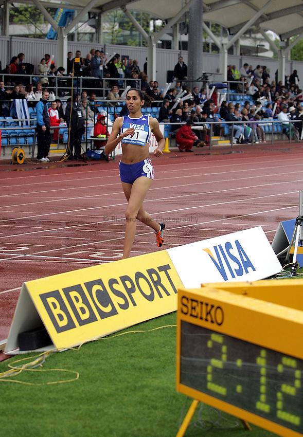 Photo: Paul Thomas..VISA Paralympic World Cup 2007. Athletics. 13/05/2007..Assia El Hannouni of France.