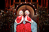 Side Show <br /> at Southwark Playhouse, London, Great Britain <br /> 25th October 2016 <br /> <br /> Louise Dearman and Laura Pitt-Pulford as conjoined twins Daisy and Violet Hilton<br /> <br /> Side Show is presented by Paul Taylor-Mills<br /> Music composed by Henry Krieger<br /> Book and Lyrics by Bill Russell<br /> Additional Book material is by Bill Condon<br /> Directed by Hannah Chissick<br /> Choreography by Matthew Cole <br /> Design by takis <br /> Musical direction by Jo Cichonska<br /> Sound design by Dan Simpson<br /> <br /> <br /> Photograph by Elliott Franks <br /> Image licensed to Elliott Franks Photography Services