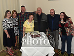 Alfie and Bernie Cooney celebrating their 50th wedding anniversary with sons Tony and Shane and daughters Mary, Sharon and Audrey in City North Hotel. Photo:Colin Bell/pressphotos.ie