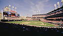 CIRCA 1993:  General view overall of the franchise opener at Jacobs Field in Cleveland, Ohio, home of the Cleveland, Indians. (Photo by: 1993 : SportPics : Jacobs Field