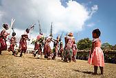 Vanuatu, Troupe de Pentecost, danse traditionnelle