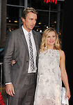 HOLLYWOOD, CA- SEPTEMBER 15: Actors Dax Shepard (L) and Kristen Bell arrive at the 'This Is Where I Leave You' - Los Angeles Premiere at TCL Chinese Theatre on September 15, 2014 in Hollywood, California.