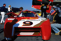 DAYTONA BEACH, FL - JANUARY 31: Bobby Rahal in the March 82G 1/Chevrolet during practice for the 24 Hours of Daytona on January 31, 1982, at Daytona International Speedway in Daytona Beach, Florida.