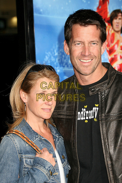 "ERIN & JAMES DENTON.Attending ""Blades of Glory"" Los Angeles Premiere at Grauman's Chinese Theatre, Hollywood, California.28 March 2007..half length.CAP/ADM/BP.©Byron Purvis/AdMedia/Capital Pictures."