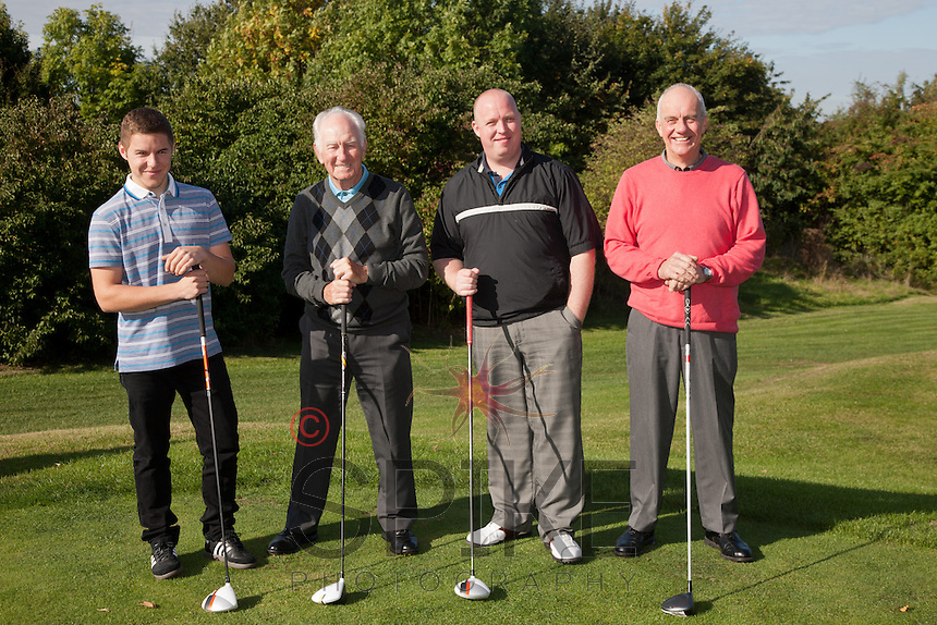 Andi Marriott - from left Georgio Labbate, Tom Moran, Andi Marriott and Trevor Occleshaw