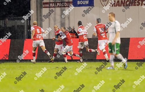 2011-12-17 / Voetbal / seizoen 2011-2012 / R. Antwerp FC - Lommel United / Denis Viane scoorde de 1-0..Foto: Mpics.be