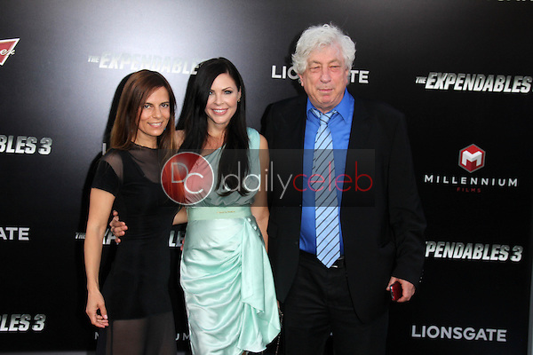 Lati Grobman, Christa Campbell, Avi Lerner<br /> at &quot;The Expendables 3&quot; Los Angeles Premiere, TCL Chinese Theater, Hollywood, CA 08-11-14<br /> David Edwards/Dailyceleb.com 818-249-4998