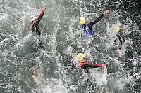 30 JUN 2007 - COPENHAGEN, DEN - Junior mens swim - European Triathlon Championships. (PHOTO (C) NIGEL FARROW)