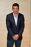 Luis Figo attends to TechnoGym inauguration at TechnoGym Flagship store in Madrid, Spain. February 26, 2019. (ALTERPHOTOS/A. Perez Meca)