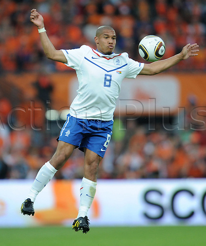 01 06 2010  International Friendly in Rotterdam, Netherlands v Ghana June 1st Nigel de Jong NED