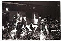 Metallica performing at Broadway Jacks in Chicago. December 15, 1983. CAP/MPI/GA<br /> ©GA/MPI/Capital Pictures
