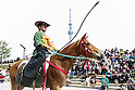 Japanese Horseback Archery ''Yabusame'' in Tokyo