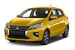 2020 Mitsubishi Space-Star Diamond-Edition 5 Door Hatchback Angular Front automotive stock photos of front three quarter view