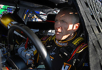 Feb 10, 2007; Daytona, FL, USA; Nascar Nextel Cup driver Mark Martin (01) during practice for the Daytona 500 at Daytona International Speedway. Mandatory Credit: Mark J. Rebilas