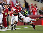 Wisconsin Badgers wide receiver David Gilreath (85) returns a punt during an NCAA college football game against the Ohio State Buckeyes on October 16, 2010 at Camp Randall Stadium in Madison, Wisconsin. The Badgers beat the Buckeyes 31-18. (Photo by David Stluka)
