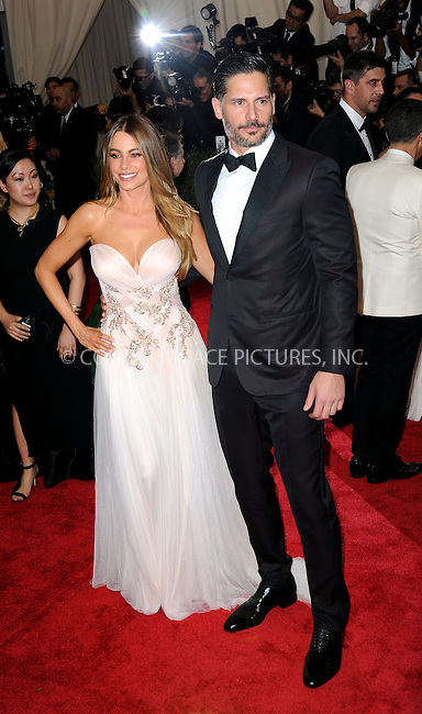 WWW.ACEPIXS.COM<br /> <br /> May 4, 2015...New York City<br /> <br /> Sofia Vergara and Joe Manganiello attending the Costume Institute Benefit Gala celebrating the opening of China: Through the Looking Glass at The Metropolitan Museum of Art on May 4, 2015 in New York City.<br /> <br /> By Line: Kristin Callahan/ACE Pictures<br /> <br /> <br /> ACE Pictures, Inc.<br /> tel: 646 769 0430<br /> Email: info@acepixs.com<br /> www.acepixs.com