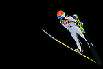 Jernej Damjam of Slovenia during the Men's Normal Hill Individual of the 2014 Sochi Olympic Winter Games at Russki Gorki Ski Juming Center on February 9, 2014 in Sochi, Russia. Photo by Victor Fraile / Power Sport Images