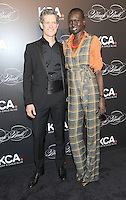 NEW YORK, NY - OCTOBER 19: Peter Twyman, Alek Wek attends Keep A Child Alive's Black Ball 2016 at Hammerstein Ballroom on October 19, 2016 in New York City. Photo by John Palmer/MediaPunch