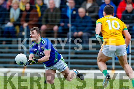 Tom O'Sullivan, Kerry in action against James McEntee, Meath during the Allianz Football League Division 1 Round 4 match between Kerry and Meath at Fitzgerald Stadium in Killarney, on Sunday.