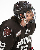 Josh McArdle (Brown - 12) - The Harvard University Crimson defeated the Brown University Bears 4-3 to sweep their first round match up in the ECAC playoffs on Saturday, March 7, 2015, at Bright-Landry Hockey Center in Cambridge, Massachusetts.
