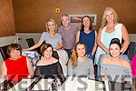 Staff from Tralee Outlook enjoying a night out in Darcy's on Friday night.Front l-r Catherine Collins,Patricia Walsh,Tina Brennan,Catherine McCarthy,Caoimhe Scannell,Donal Barry, Ashling Crosbie and Eimear Daly