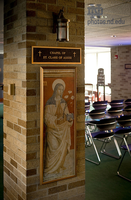 Mar. 28, 2012; Pasquerilla West chapel..Photo by Matt Cashore/University of Notre Dame